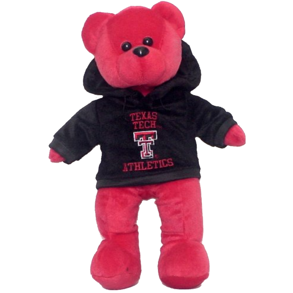 """14"""" Red Bear with Hoody"""