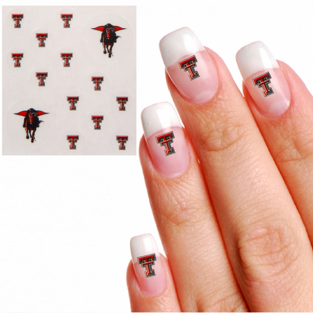 Texas Tech Nail Tattoos
