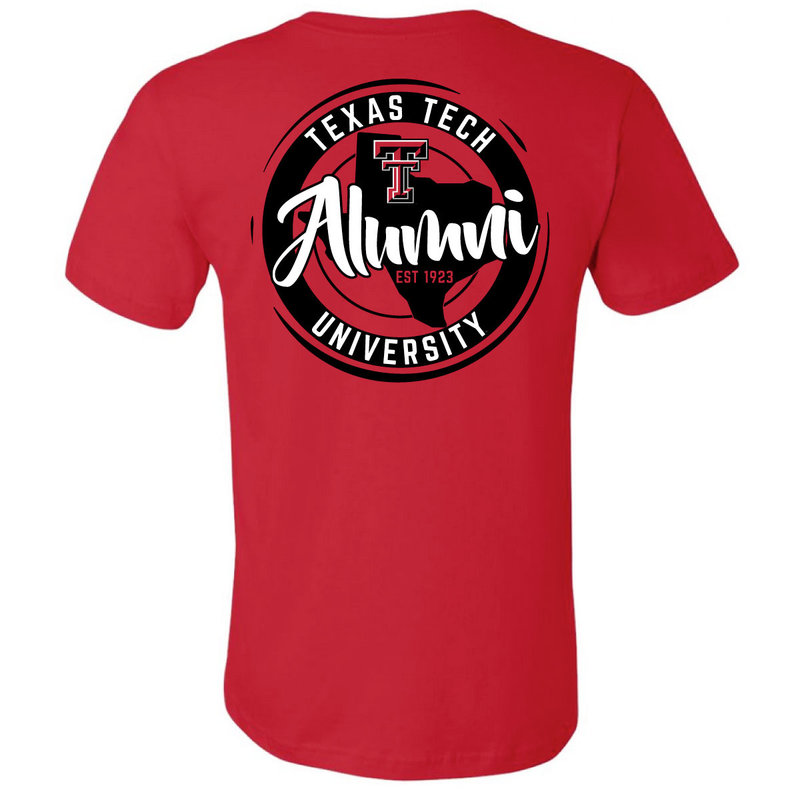 Alumni State Circle Short Sleeve Tee