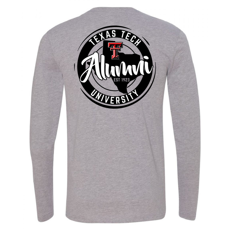 Alumni State Circle Long Sleeve Tee