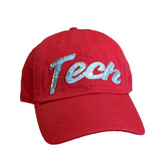 Top of the World Sequential Ladies Cap Red