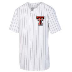 Pinstripe Full Button Baseball Jersey