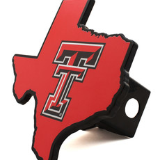 Cut out State of Texas Double T Hitch Cover