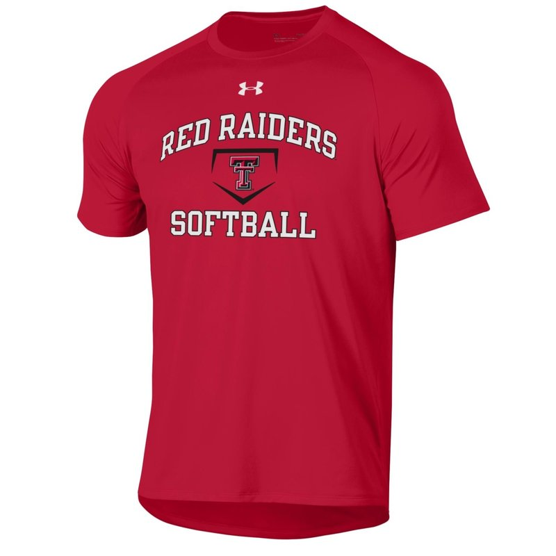 Under Armour Softball Plate Short Sleeve Tee