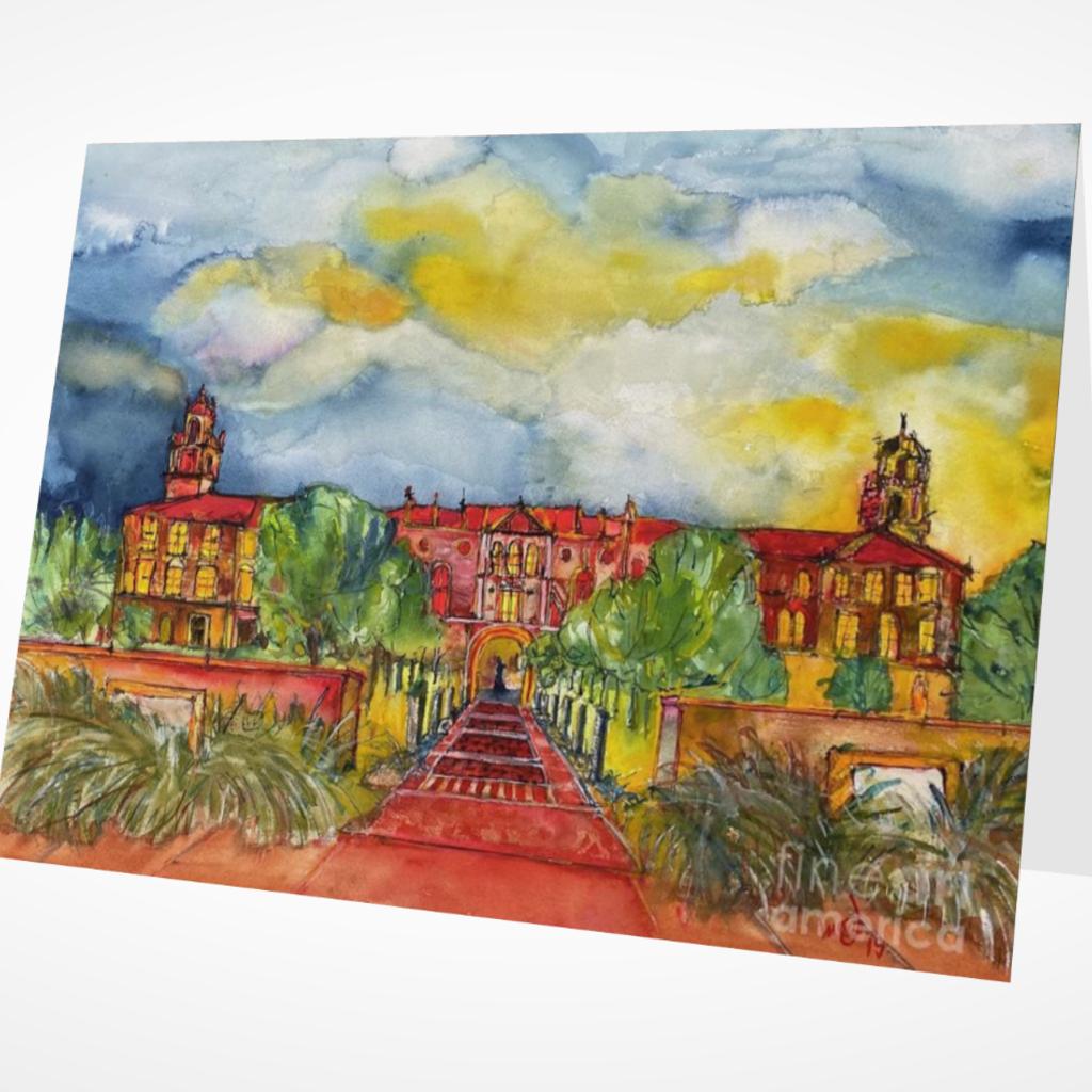 Bleep Watercolor Art Greeting Card Set of 5