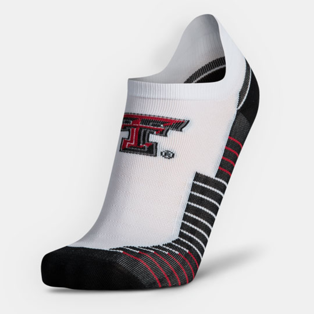 Under Armour Run No Show White Sock - Large