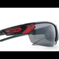Wrap Black Double T Sunglasses