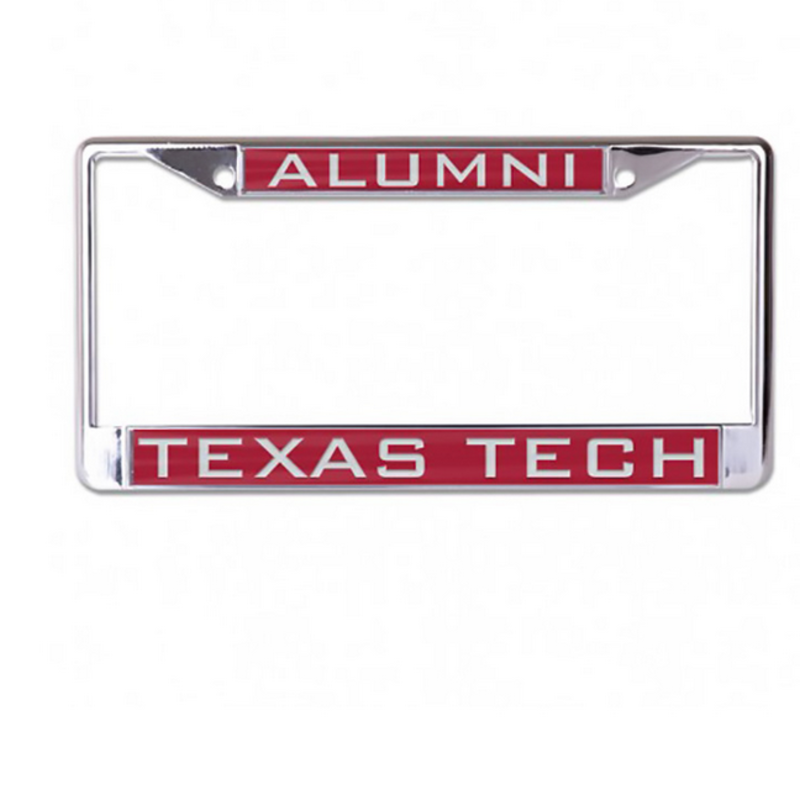 Laser Cut Chrome License Plate Frame
