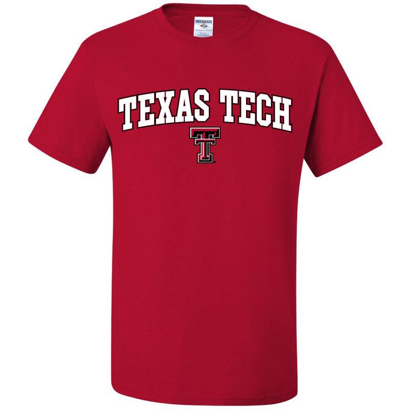 Outline Arch Texas Tech Short Sleeve Tee