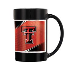 Coffee Mug with Oversized Handle - 15oz Black