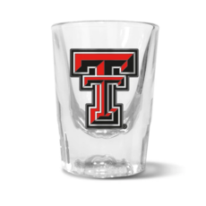 Prism Shot Glass with Metal Double T - 2oz
