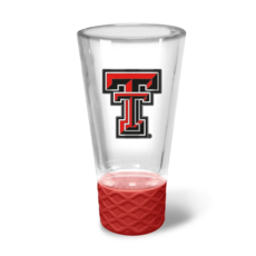 Cheer Shot Glass with Red Gripper - 4oz