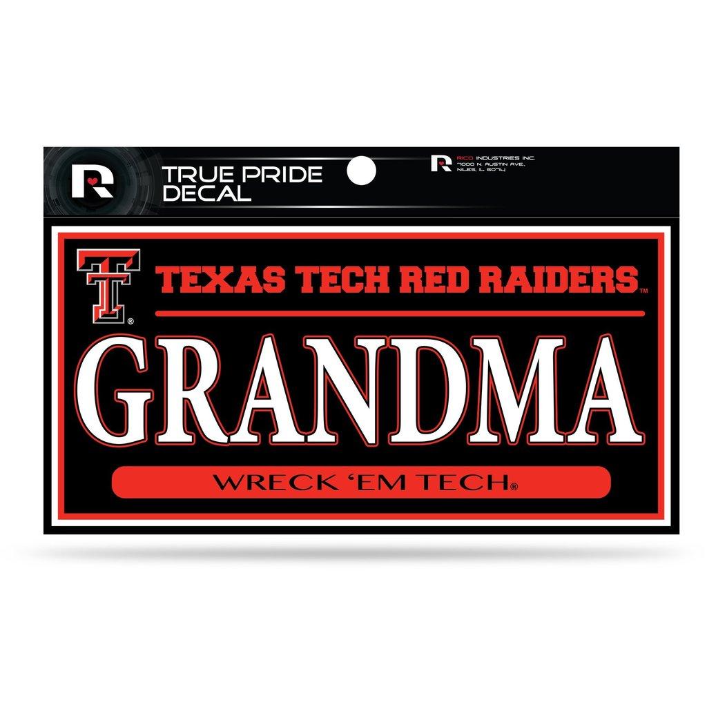 True Pride Grandma Decal 3x6