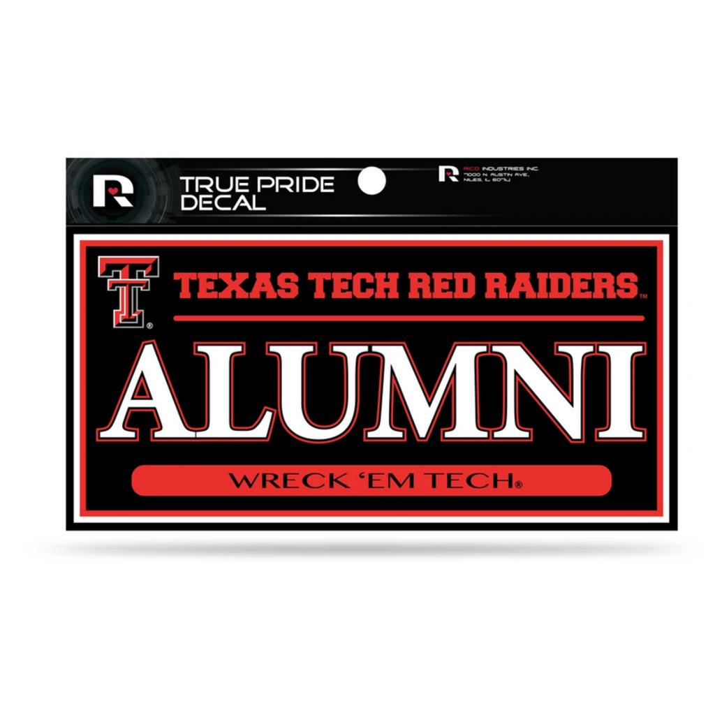 True Pride Alumni Decal 3x6