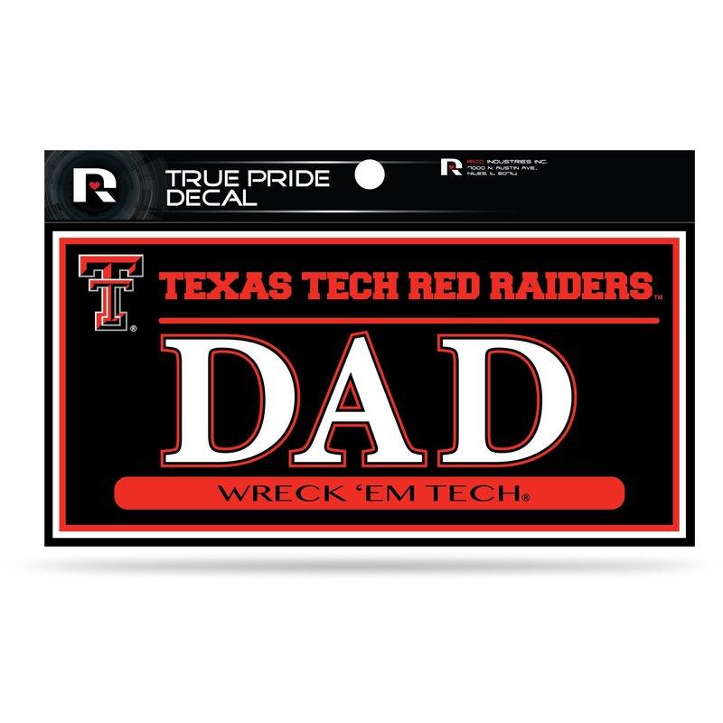 True Pride Dad Decal 3x6