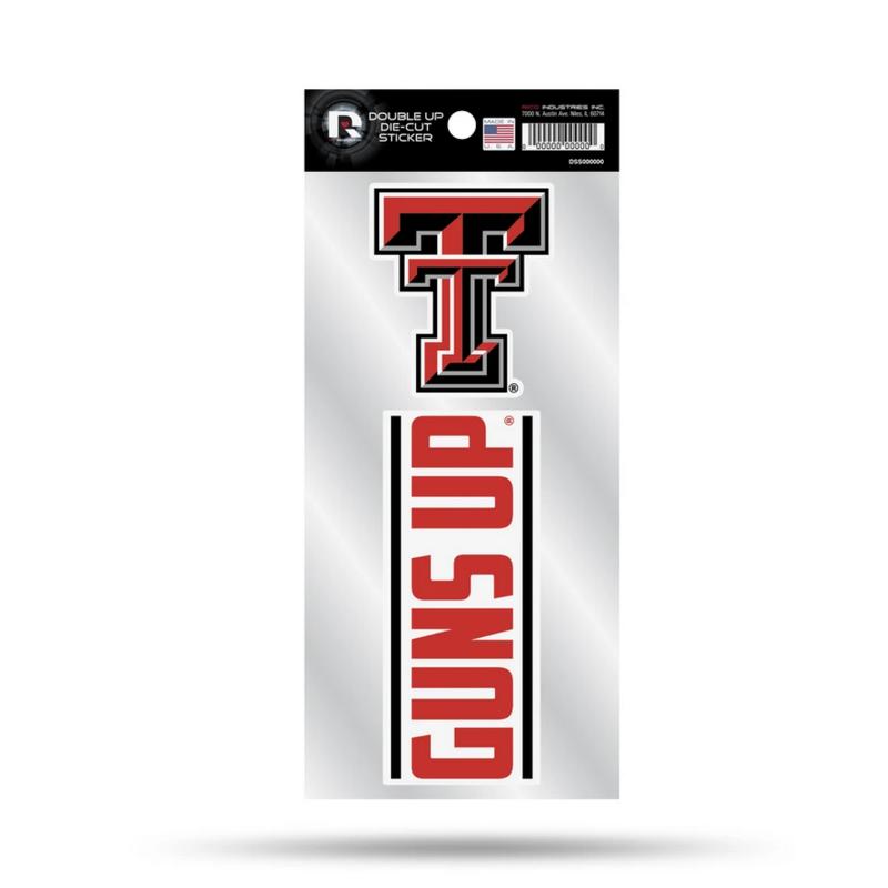 Guns Up - 2 Piece Team Logos Decal