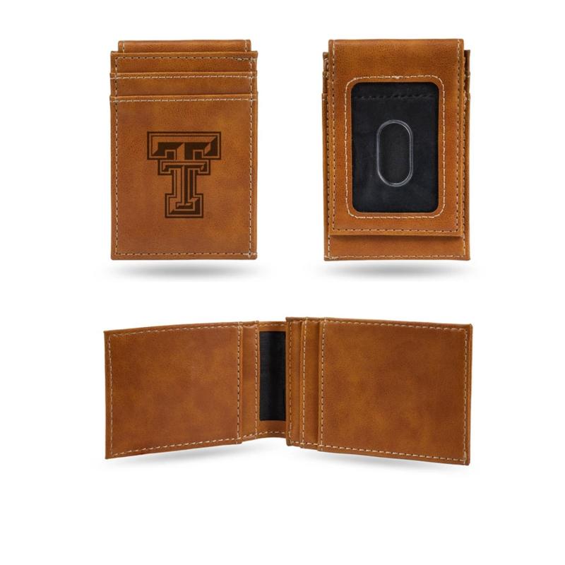 Front Pocket Magnetic Wallet - Brown