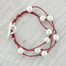 Pearl 5 Strand Bracelet