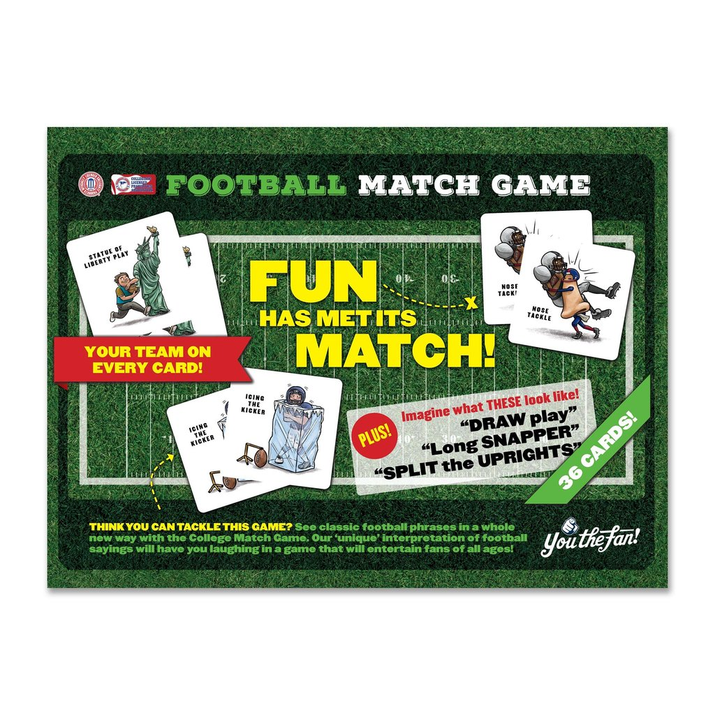 YoutheFan Match Game - 36 Cards