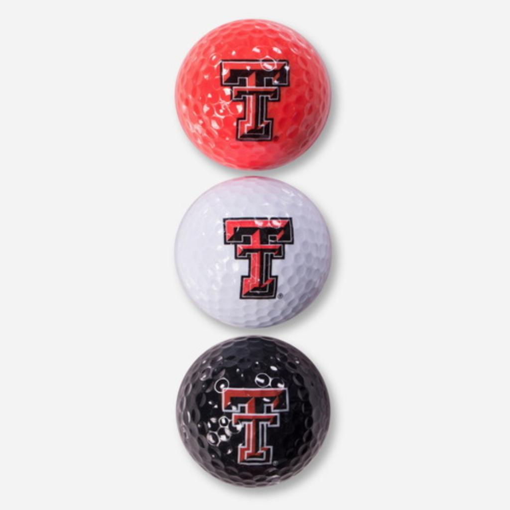 3 Pack Golf Balls