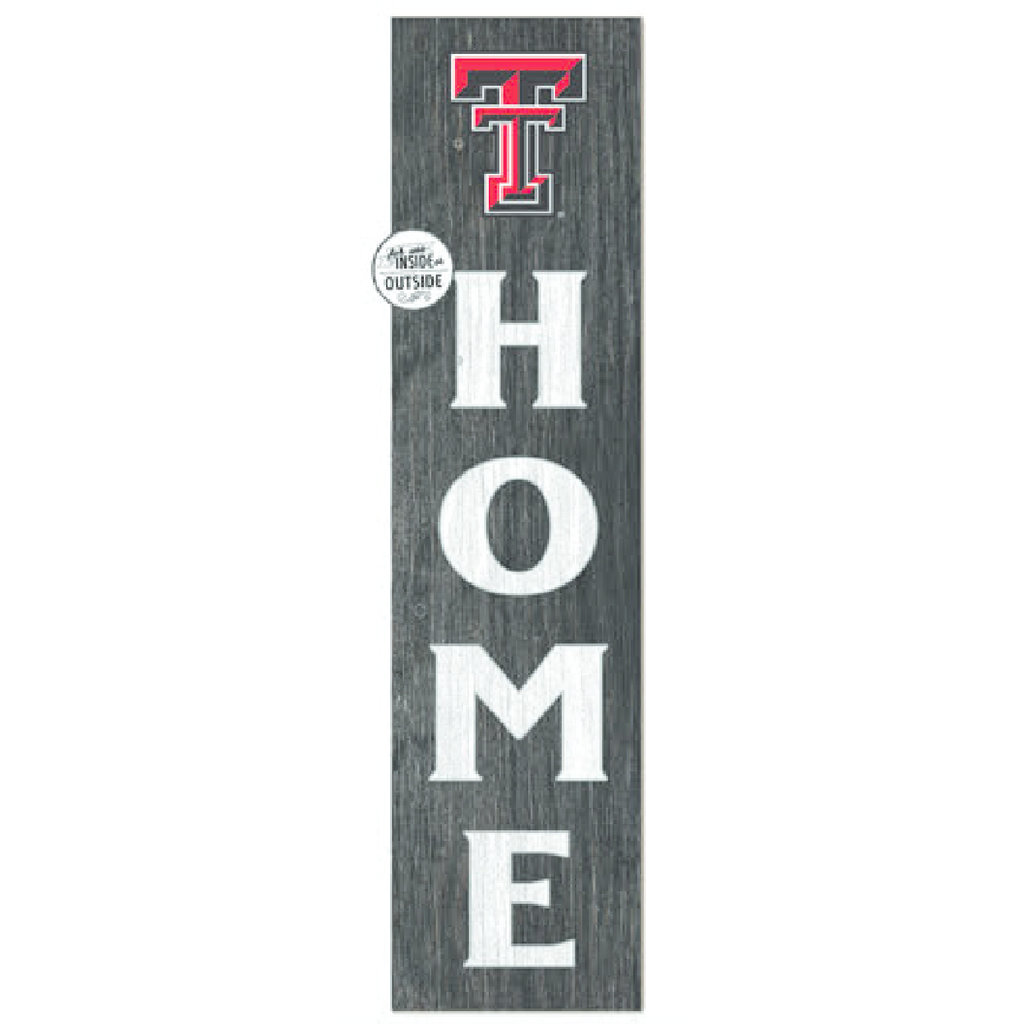 Home Wooden Leaning Sign 12x48