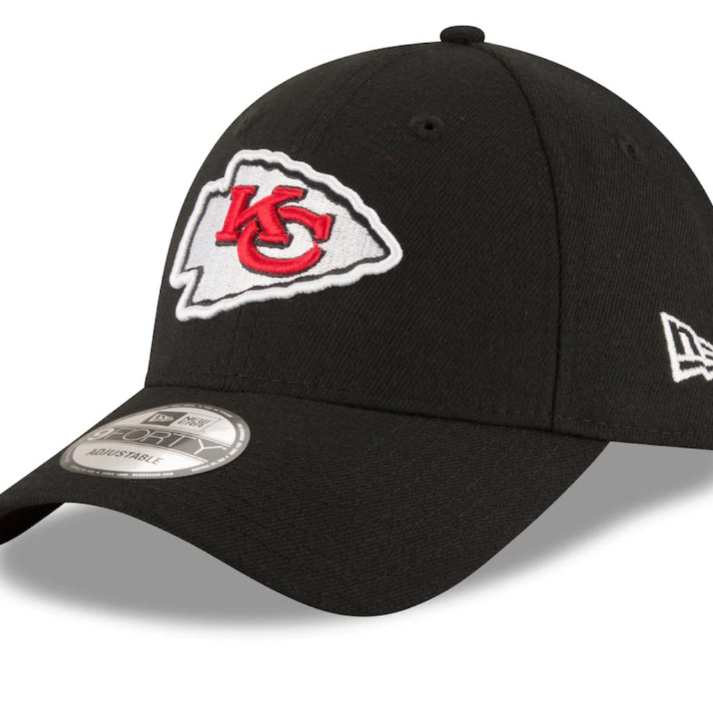 KC Chiefs Logo Black Cap