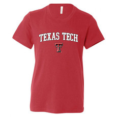 Youth Outline Arch Texas Tech Short Sleeve Tee