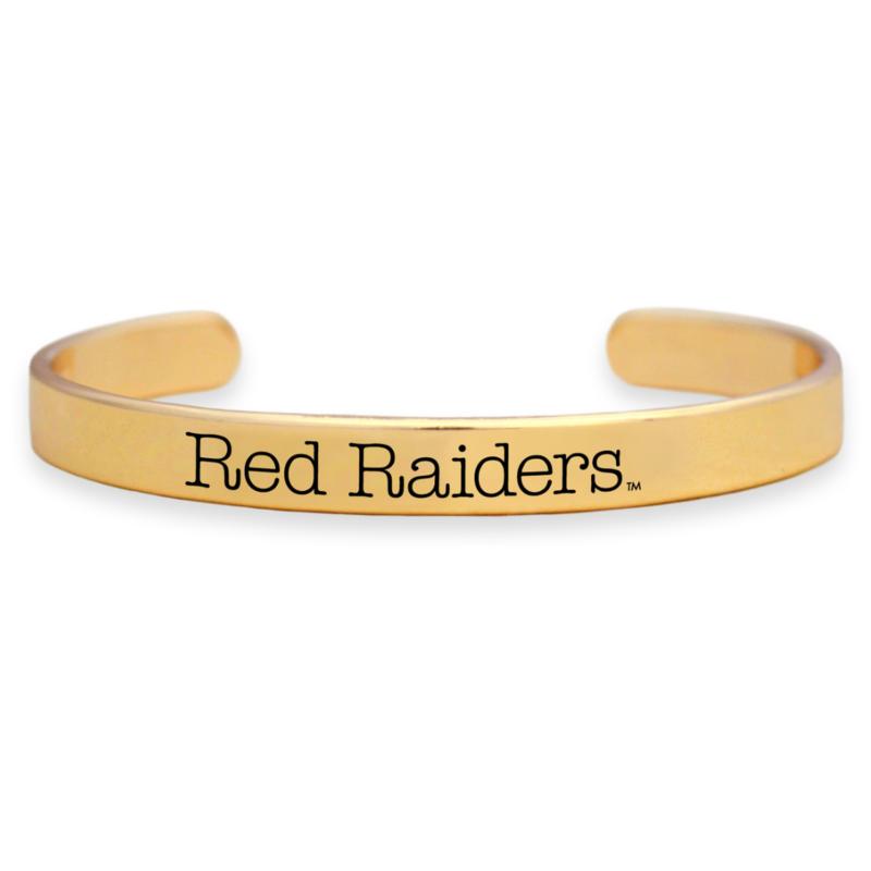 Gold Thin Cuff Bracelet