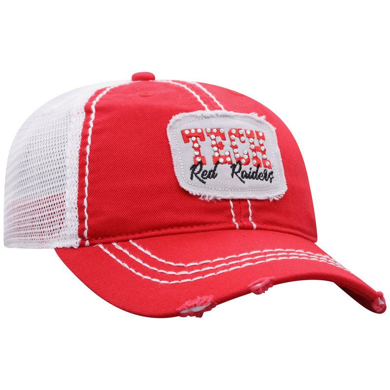 Buckle Rhinestone Patch Ladies Trucker Cap