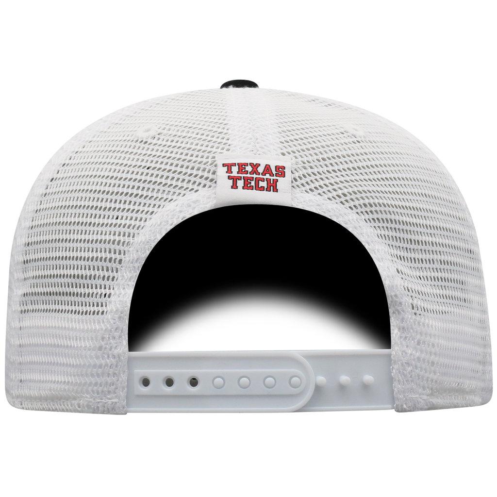 Two Tone Black/White Mesh Trucker Cap