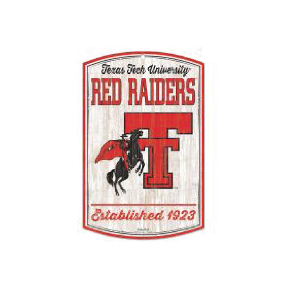 Horse & Rider Vault Logo Wood Sign