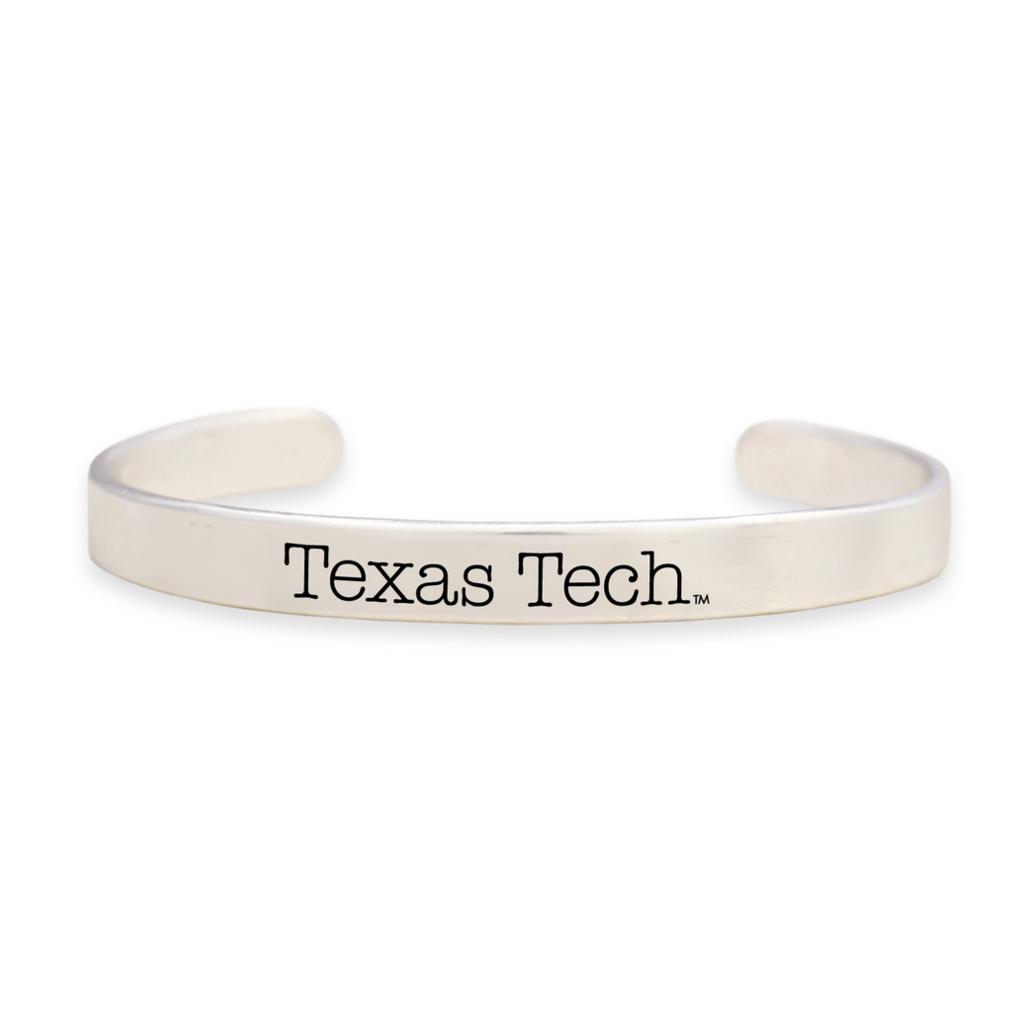 Silver Thin Cuff Bracelet