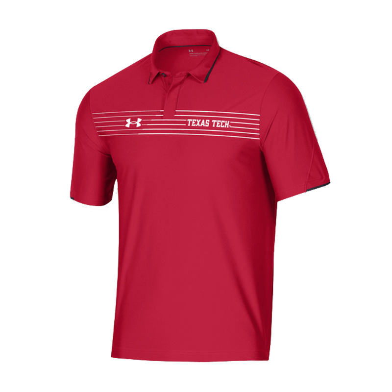 Under Armour Sideline Chest Stripe Polo