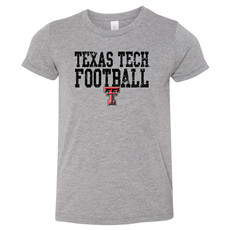 Football Line Stack Youth Short Sleeve Tee