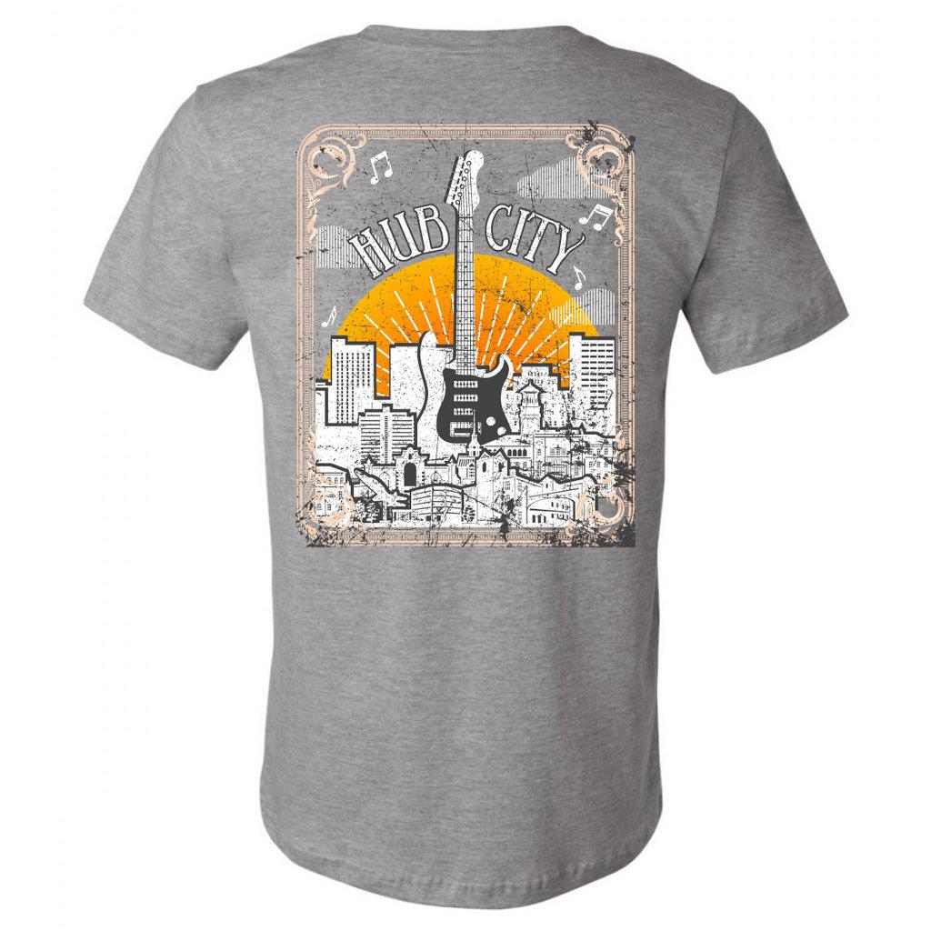 Hub City Guitar Short Sleeve Tee