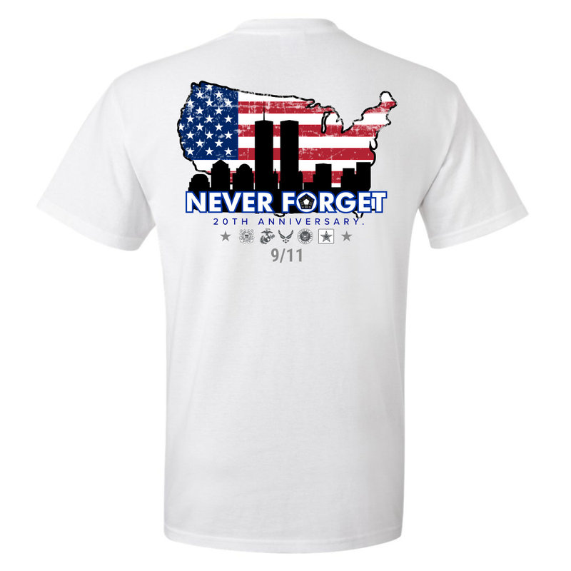 Never Forget Short Sleeve Tee