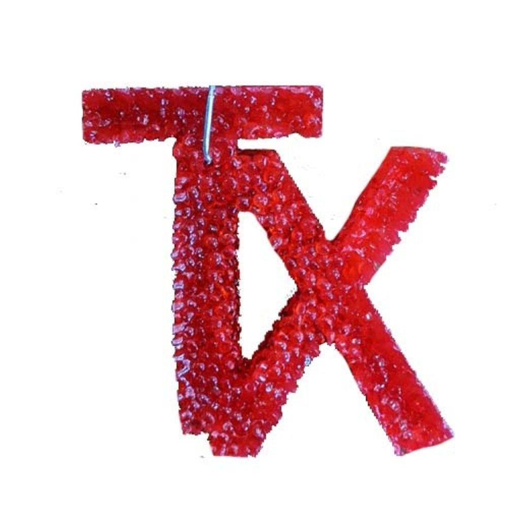 Texcents Freshies Tx Car Freshner Red/Black