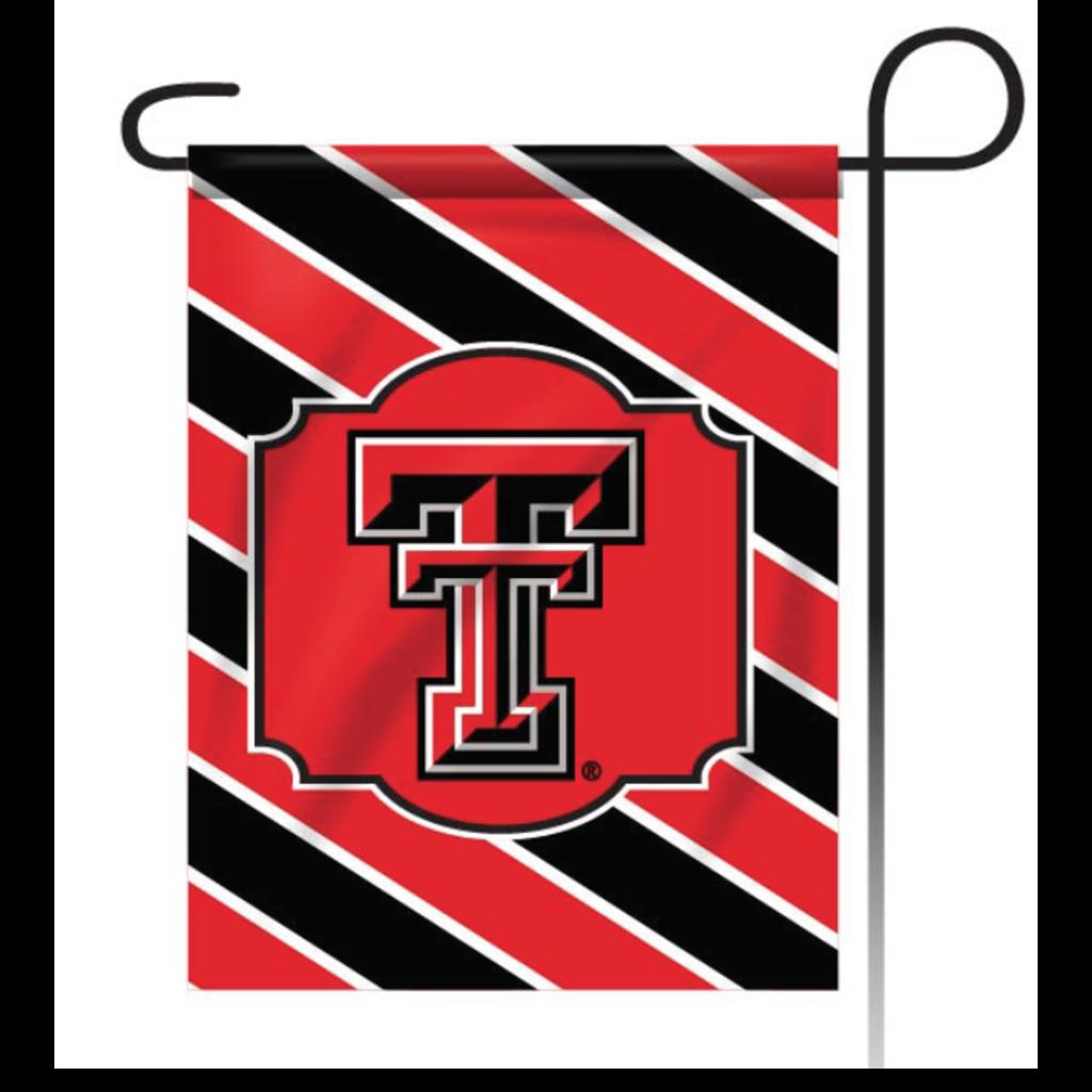 Stripes Logo Garden Flag