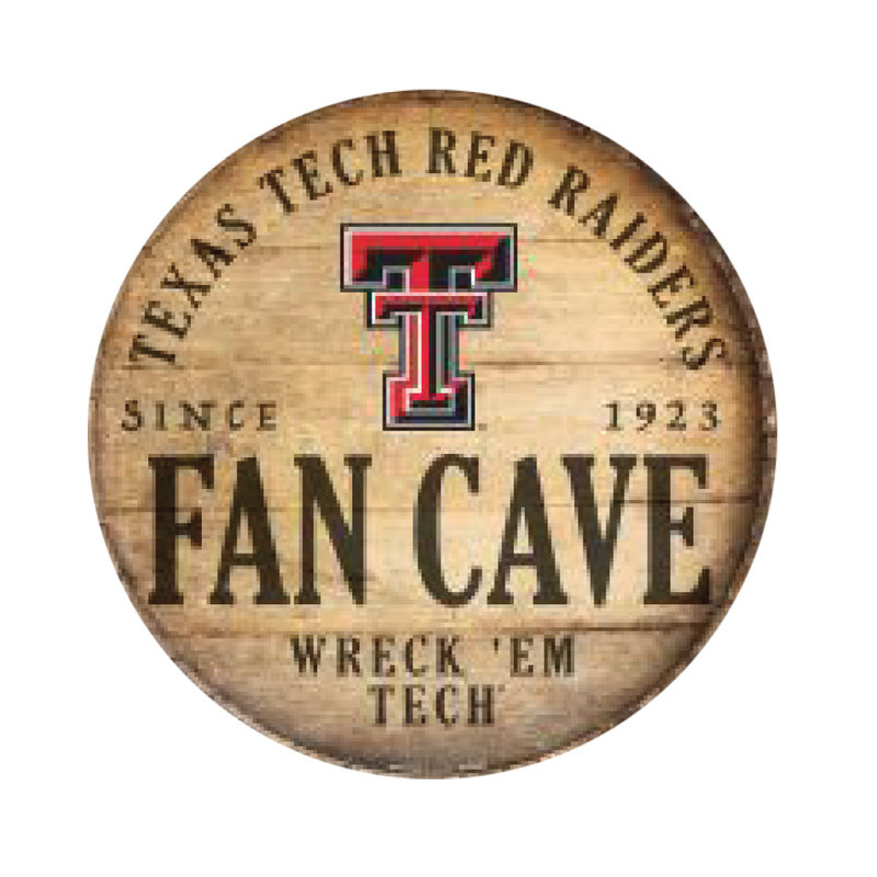 """Fan Cave 14"""" Round Indoor Sign"""