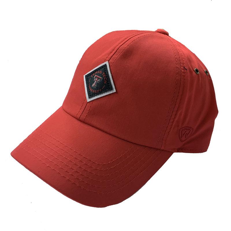Diamond Patch Adjustable Red Cap