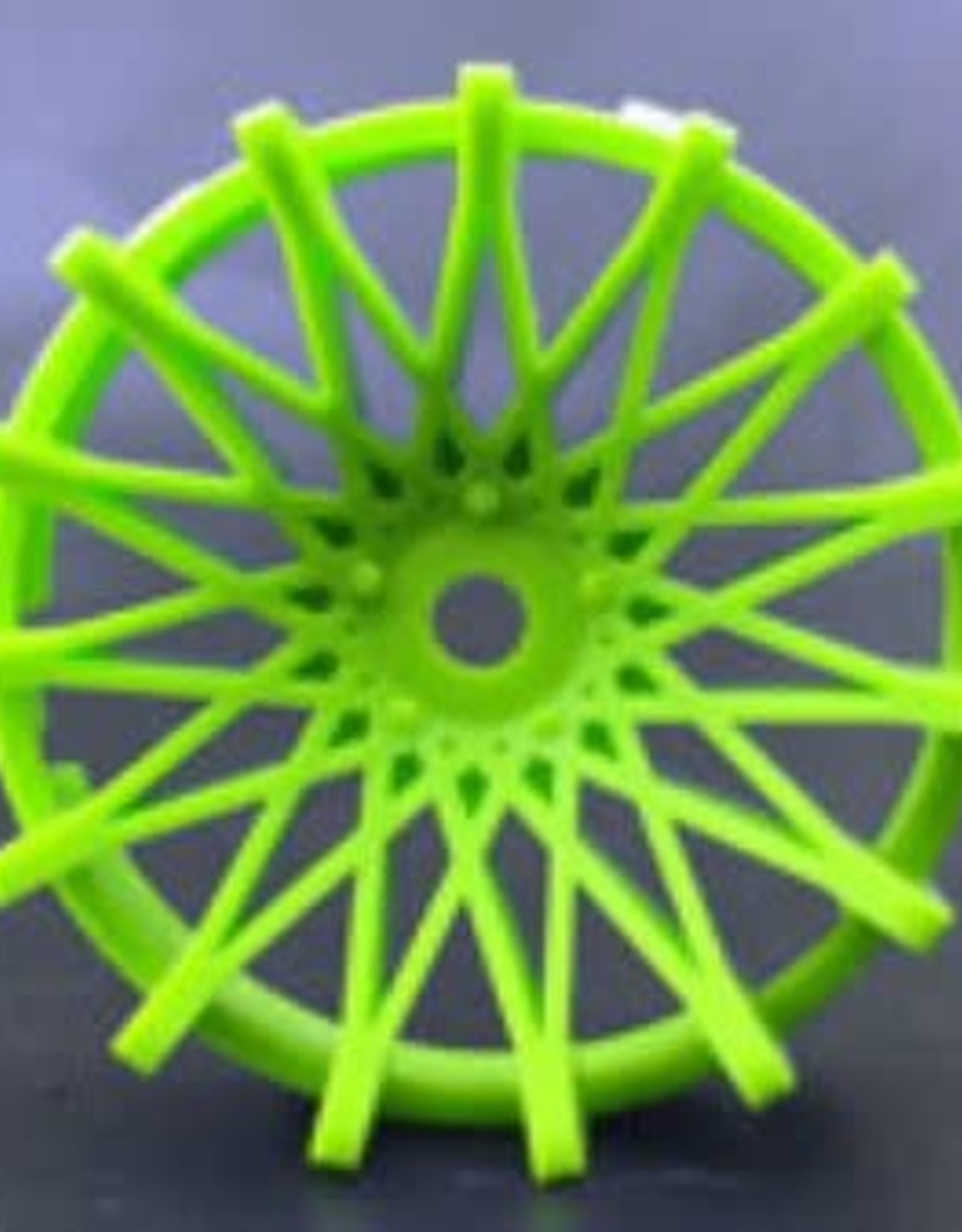 Tetsujin TT-7527 Super Rim Dahlia Fine Green Disks 2pcs. by Tetsujin