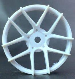 Tetsujin TT-7543 Super Rim Jasmine White Disks 2pcs. by Tetsujin