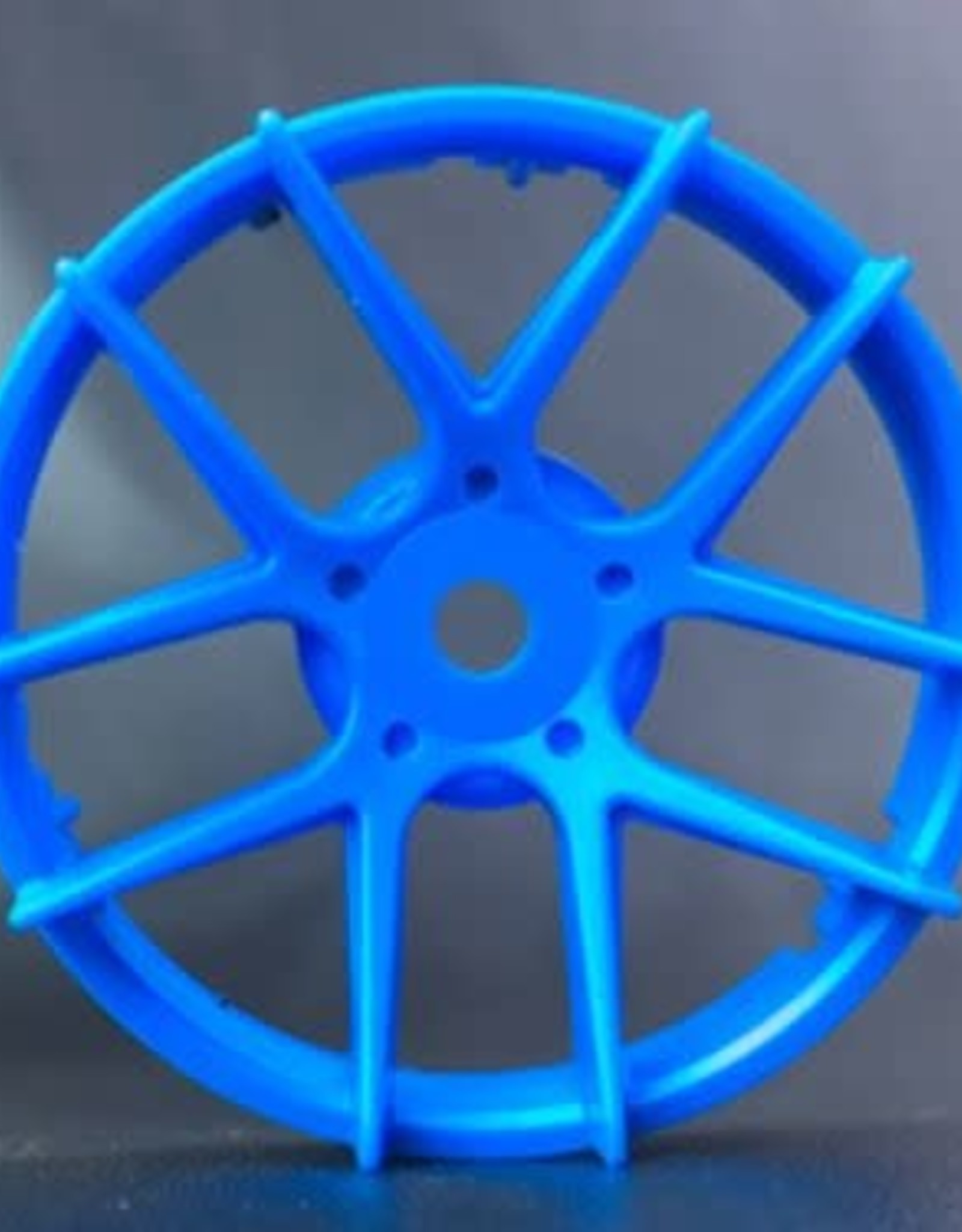 Tetsujin TT-7544 Super Rim Jasmine Blue Disks 2pcs. by Tetsujin