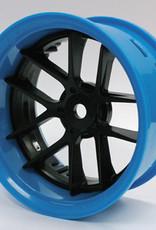 Tetsujin TT-7548 Super Rim Set Blue Rim/ Black Jasmine 2pcs. by Tetsujin