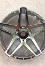 Tetsujin TT-7564 Super Rim Southern Cross Chrome Disks 2pcs. by Tetsujin