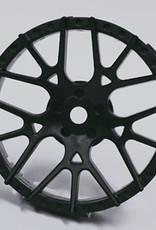 Tetsujin TT-7602 Super Rim Lycoris Black Disks 2pcs. by Tetsujin