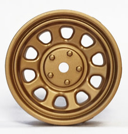 Tetsujin TT-7619 Super Rim Sunflower Gold Disks 2pcs. by Tetsujin