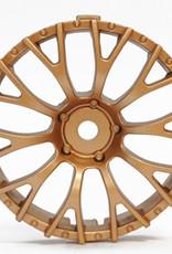 Tetsujin TT-7634 Super Rim Daisy Gold Disks 2pcs. by Tetsujin
