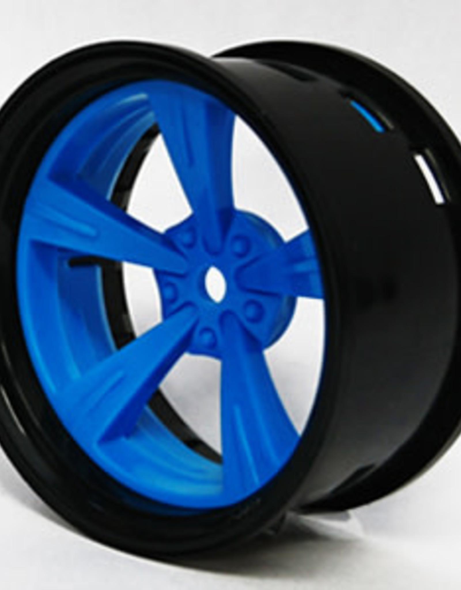 Tetsujin TT-7650 Super Rim Set Black Rim/ Blue Madarin 2pcs. by Tetsujin