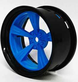 Tetsujin TT-7650 Super Rim Set Black Rim/ Blue Madarin 2pcs. by Tetsujin